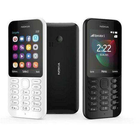 NOKIA Nokia 222 DS Blanc