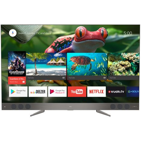 TCL U65X9006 Série X2 Xess TV LED 4K UHD 165 cm Smart TV Aluminium Brossé