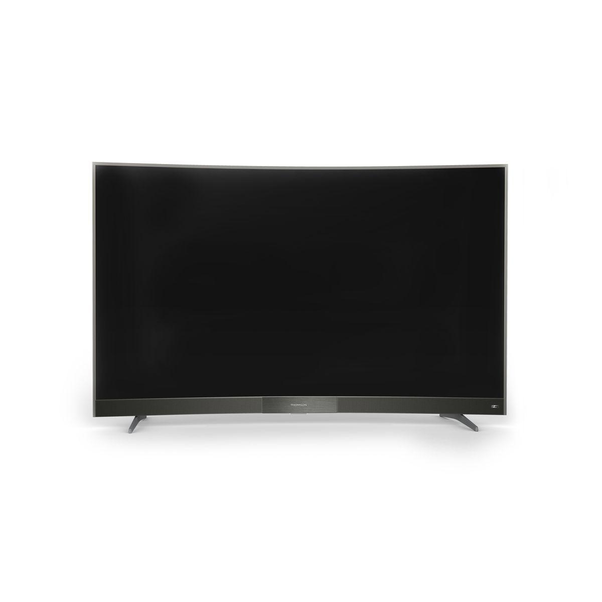 t l viseur ultra hd 4k 139 cm thomson 55uc6406 comparer les prix sur shopoonet. Black Bedroom Furniture Sets. Home Design Ideas