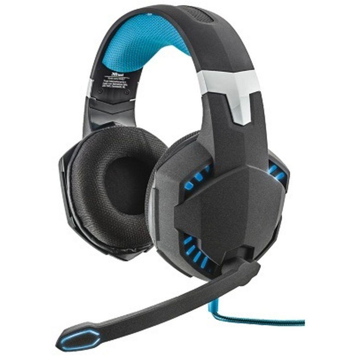 GXT 363 7.1 - Noir et Turquoise - Casque Audio