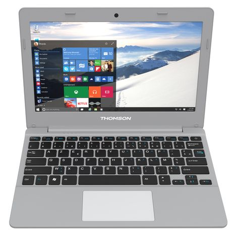 THOMSON Ordinateur portable Notebook THBK2-12.32CTW - 32 Go - Argent