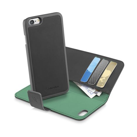 CELLULAR Etui folio pour iPhone 7 - Noir