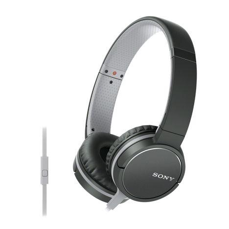 MDR-ZX660AP - Noir - Casque audio SONY pas