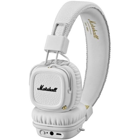 MARSHALL Casque audio filaire - Blanc - Major II