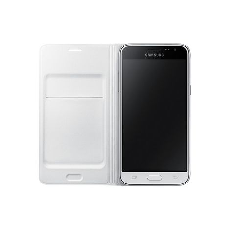 SAMSUNG Etui folio pour Galaxy J3 - Blanc