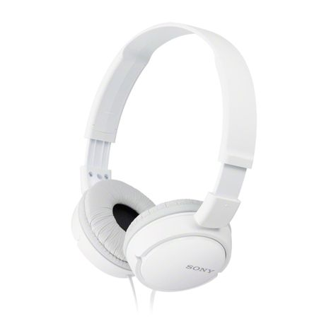 SONY Casque audio filaire - Blanc - MDR-ZX110AP
