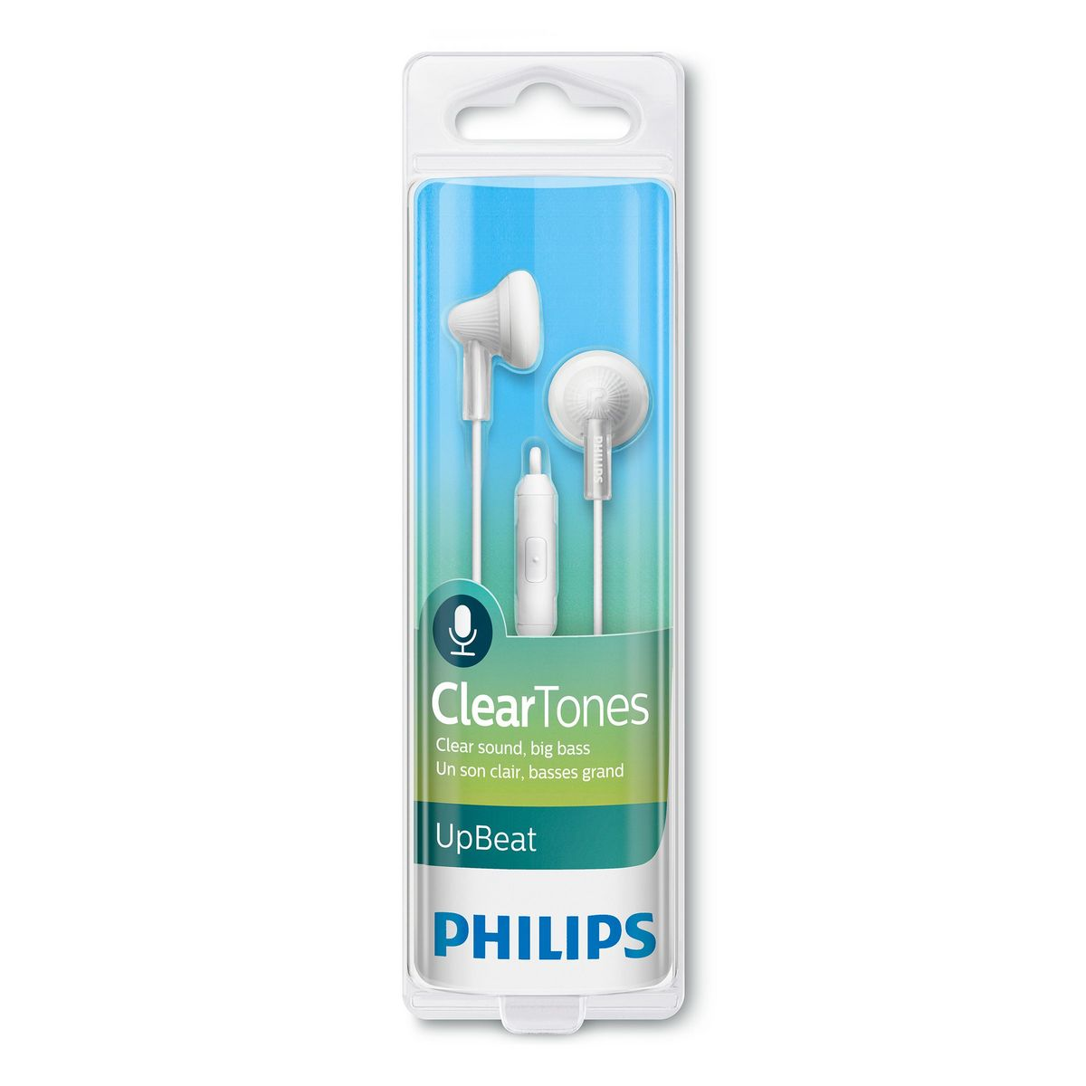 PHILIPS SHE3015 - Blanc - Ecouteurs