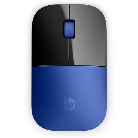 HP Souris sans fil Z3700 - Bleu