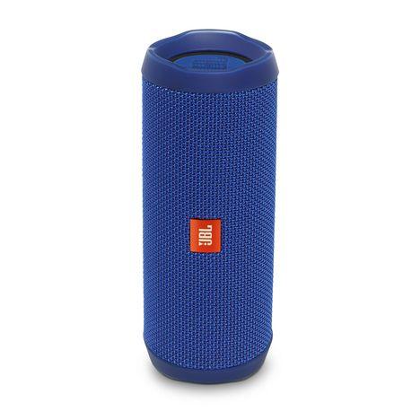 JBL Flip 4 - Bleu - Enceinte portable Bluetooth