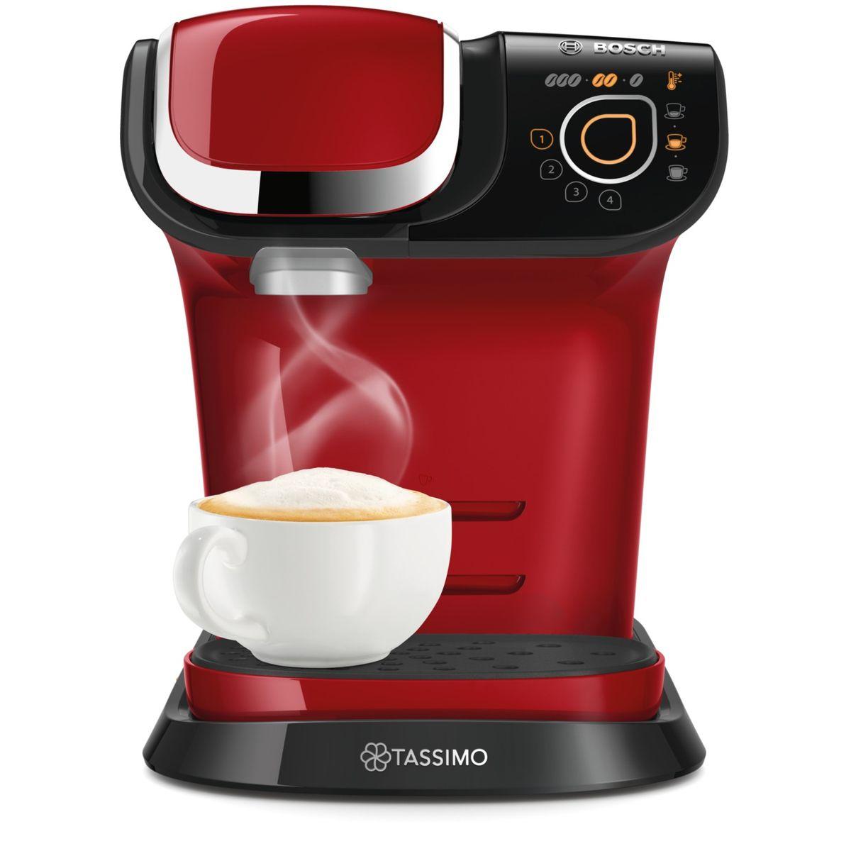 Cafetière à dosette Tassimo MY WAY TAS6003, Rouge