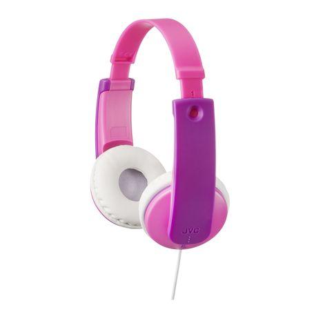 JVC HA-KD7 - Rose/violet - Casque audio pour enfants