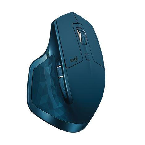 LOGITECH Souris sans fil MX Master 2S bleue