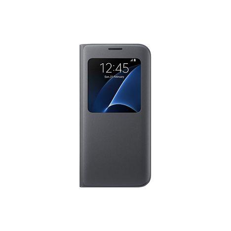 SAMSUNG Etui folio pour Galaxy S7 EDGE - Noir
