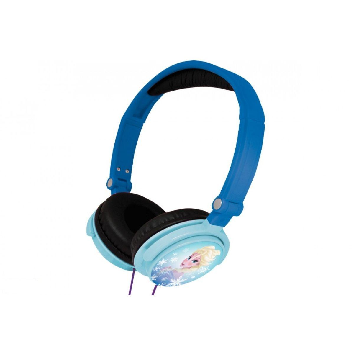 Casque audio FROZEN HP010FZ Reine des neiges Bleu