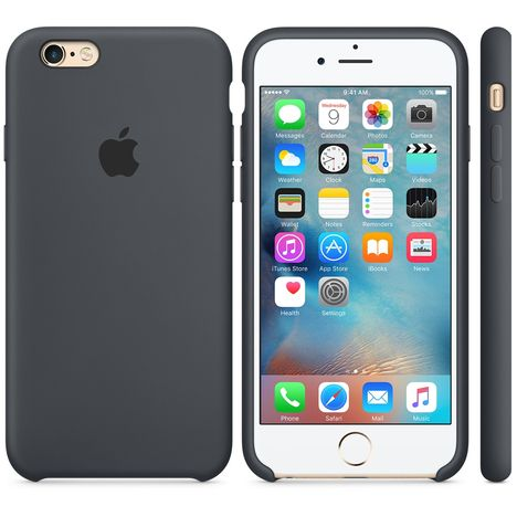 coque silicone grise iphone 6