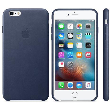 coque cuir iphone 6 bleu