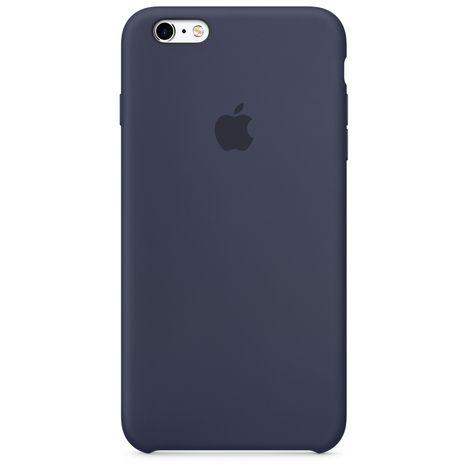 coque en silicone pour iphone 6/6s - bleu nuit