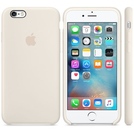coque iphone 6 blanche silicone
