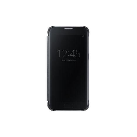SAMSUNG Etui folio Clear View Cover pour Galaxy S7 - Noir