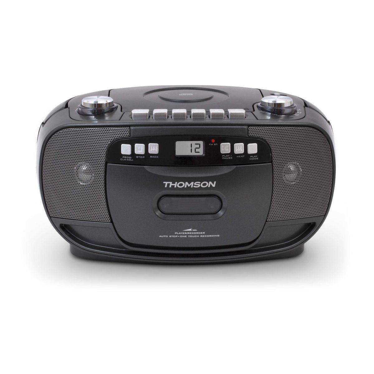 Radio-cassette CD - Noir - RK200CD