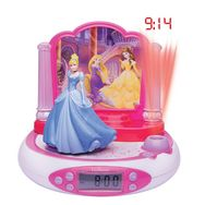 LEXIBOOK RP510DP Disney Princess - Rose et blanc - Radio réveil