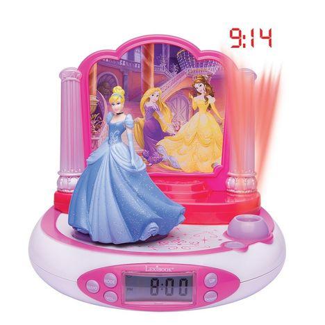 LEXIBOOK RP510DP Disney Princess - Rose et blanc - Radio réveil