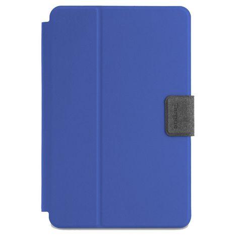 """TARGUS Étui pour tablette rotatif universel Targus SafeFit pour appareils de 7-8"""" - Bleu"""