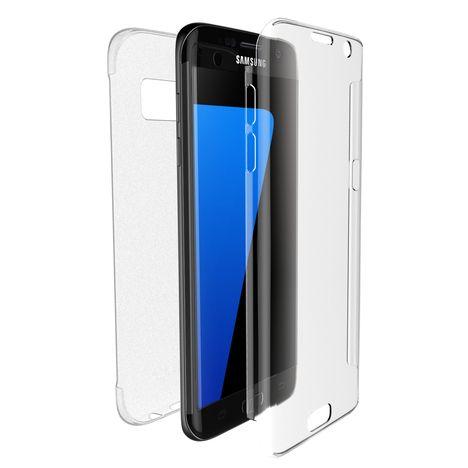 XDORIA Coque Defense 360° pour Galaxy S7 Edge - Transparent
