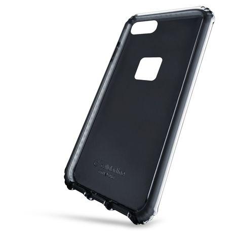CELLULAR Coque renforcée anti choc en silicone noir pour Huawei P10 Lite