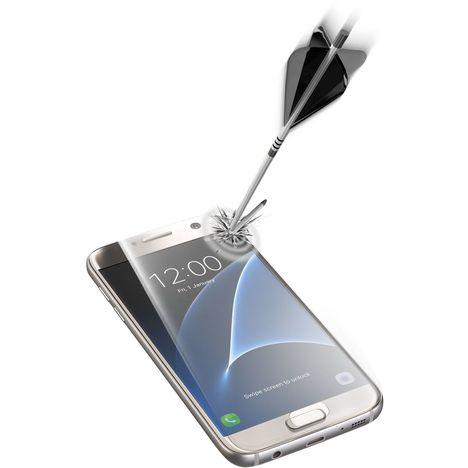 CELLULAR Protection d'écran en verre trempé bord à bord pour Samsung Galaxy S7