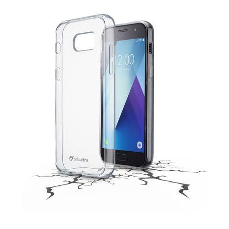 CELLULAR Coque bi-matière rigide avec contours silicones pour Samsung Galaxy A3