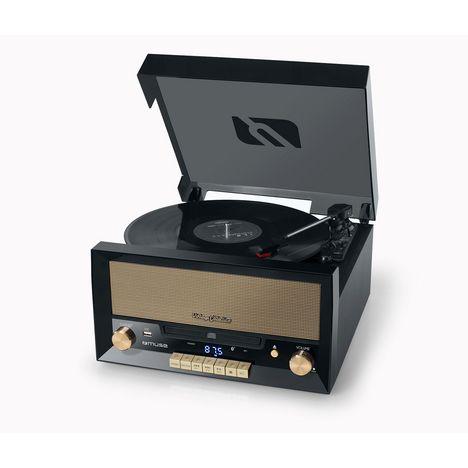 MUSE MT 110 B - Platine vinyle vintage - Noir