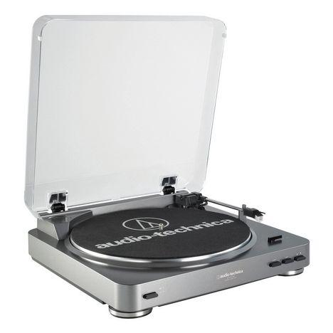 AUDIO TECH AT-LP60USB - Gris - Platine vinyle