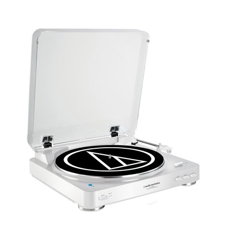 AUDIO TECH AT-LP60BT - Blanc - Platine vinyle