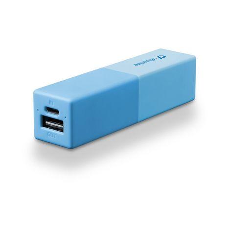 CELLULAR Batterie de secours pour iPhone et Smartphone - FREEPSMART2500B - Bleu