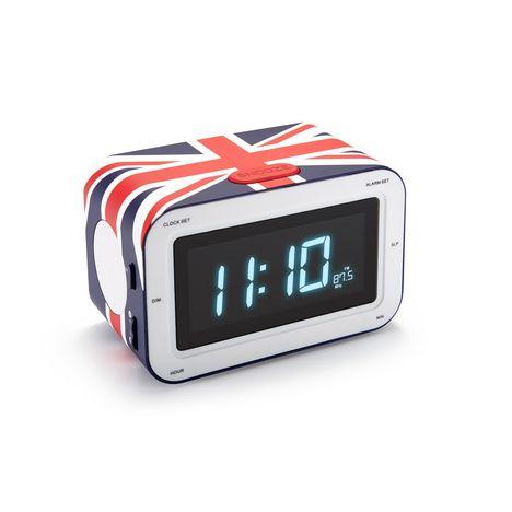 BIGBEN Radio réveil drapeau britannique - RR30GB