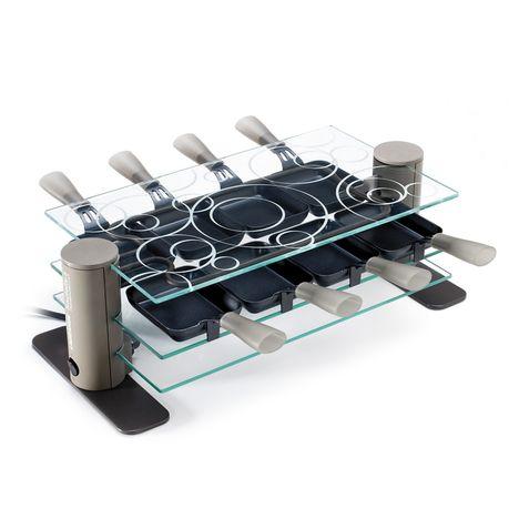 Raclette 8 transparence 009801 lagrange pas cher prix auchan - Raclette pas cher ...
