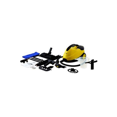 nettoyeur vapeur nv6200 noir et jaune 4 bars 2000w autonomie 45min h koenig pas cher prix auchan. Black Bedroom Furniture Sets. Home Design Ideas