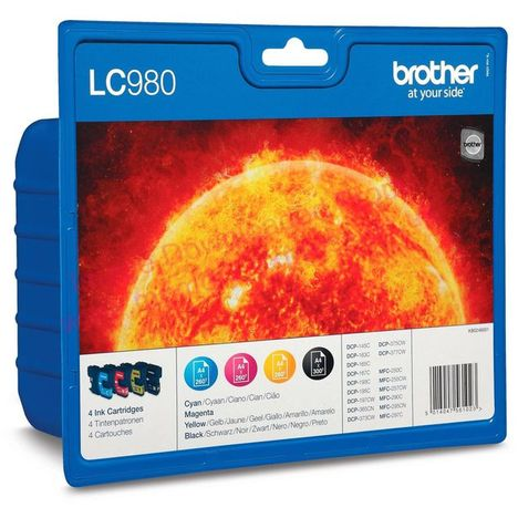 BROTHER Cartouche LC980VALBP