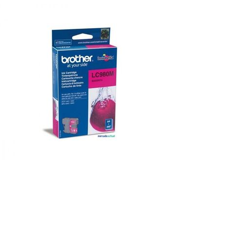 BROTHER Cartouche d'Encre LC980 Magenta/DCP145C