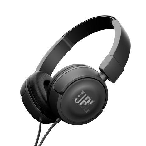 JBL T450 - Noir - Casque audio filaire avec micro