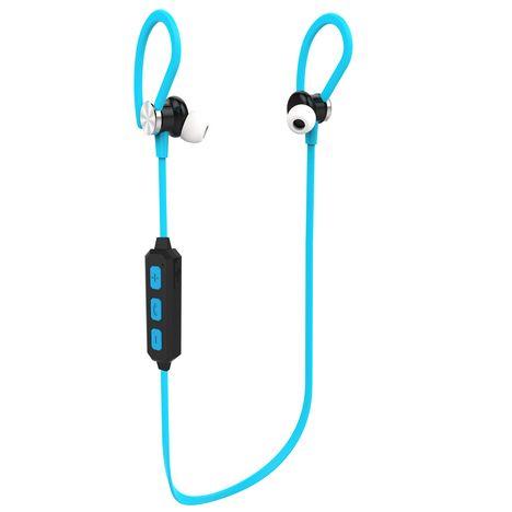 QILIVE Q.1164 - Bleu - Ecouteurs Bluetooth