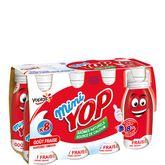 Yoplait Yop mini saveur fraise 8x100g
