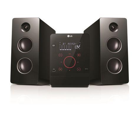LG Chaîne hi-fi Bluetooth avec lecteur CD - Noir - CM2760