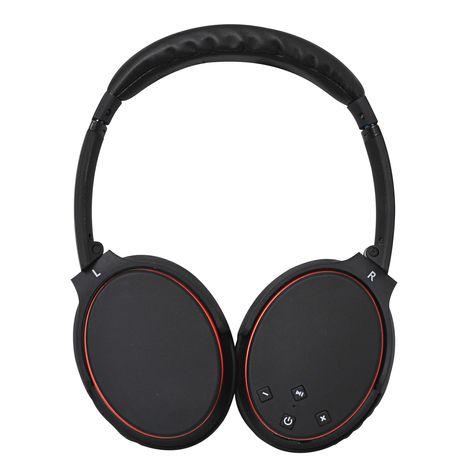 INEXIVE Casque audio Noir - Bluetooth - Contrôle volume - Isolation des bruits extérieur