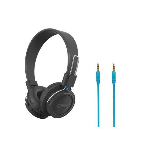 Casque Audio Sans Fil Q1587 Noir Qilive Pas Cher à Prix Auchan