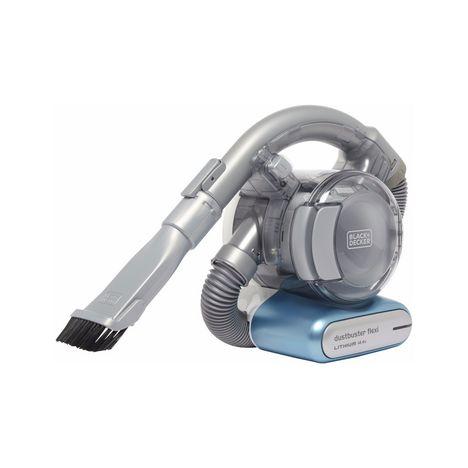 aspirateur a main pd1420lp dustbuster flexi lithium bleu black et decker pas cher prix auchan. Black Bedroom Furniture Sets. Home Design Ideas