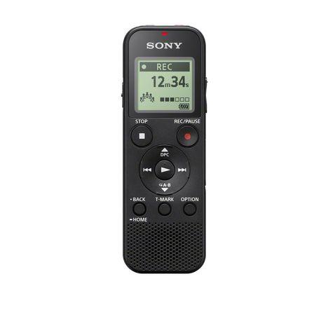 SONY ICD-PX370B.CE7 - Noir - Dictaphone