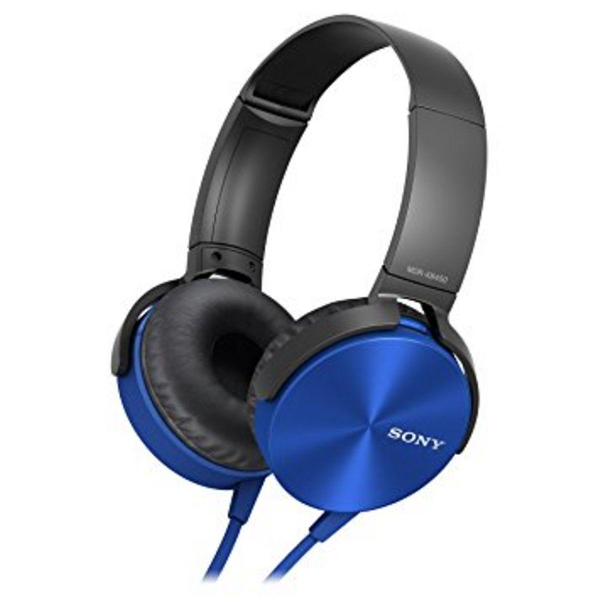Casque audio Supra-aural MDR-XB550AP - Bleu