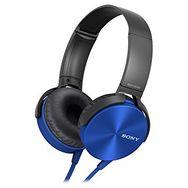 SONY Casque audio Supra-aural MDR-XB550AP - Bleu